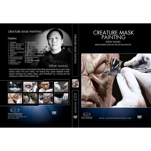 DVD Steve Wang : Creature Mask Painting