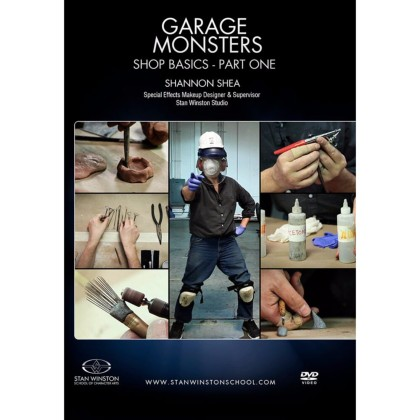 DVD Shannon Shea : Garage Monsters - Shop Basics Part 1