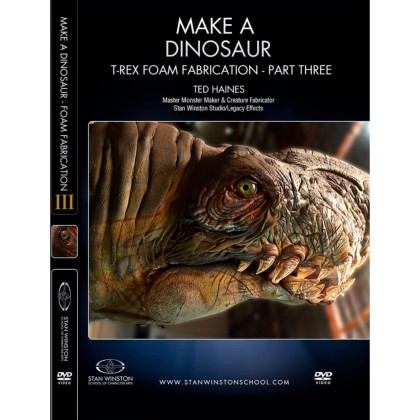 DVD Ted Haines : Make a Dinosaur - T-Rex Foam Fabrication Part 3