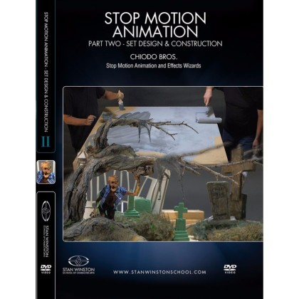 DVD Chiodo Bros. : Stop Motion Animation Part 2 - Set Design & Construction