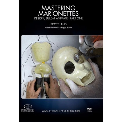 DVD Scott Land : Mastering Marionettes Part 1 - Design, Build, & Animate