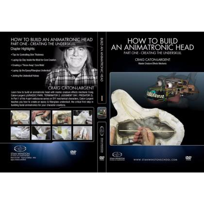 DVD Craig Caton-Largent : How to build an animatronic head. Pt. 1