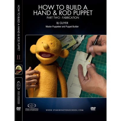 DVD BJ Guyer : How to Build a Hand & Rod Puppet Part 2 - Fabrication