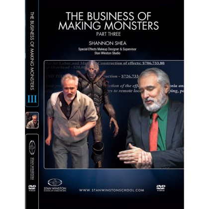 DVD Shannon Shea : The Business of Making Monsters - Part 3