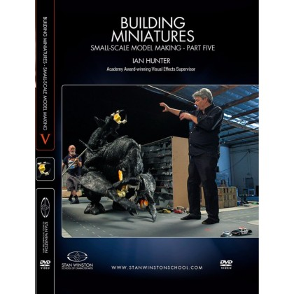 DVD Ian Hunter : Building Miniatures: Small-Scale Model Making - Part 5