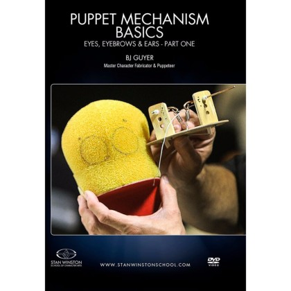 DVD BJ Guyer : Puppet Mechanism Basics: Eyes, Eyebrows, Ears - Part 1