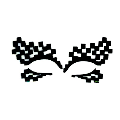 Autocollant Eye Mask Sticker 3
