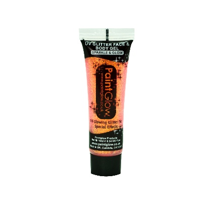 UV Glitter Body Gels - Paillettes Gel UV - 10ml - Peach Paradise
