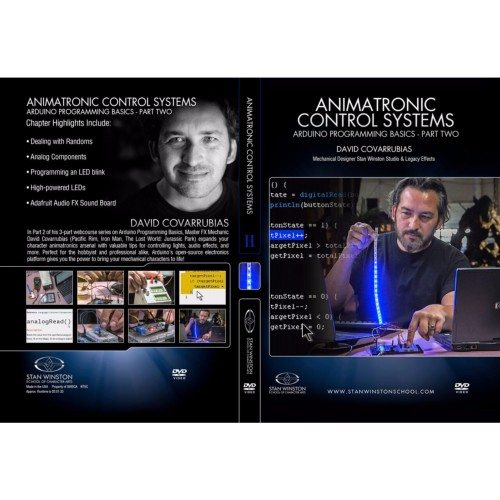 DVD David Covarrubias : Animatronic Control Systems - Arduino Programming Basics - Part 2