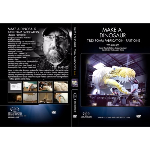 DVD Ted Haines : Make a Dinosaur - T-Rex Foam Fabrication Part 1