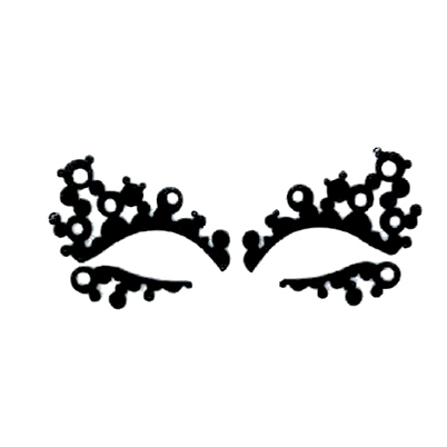 Autocollant Eye Mask Sticker 21