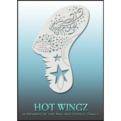 Pochoirs Hot Wings 8009