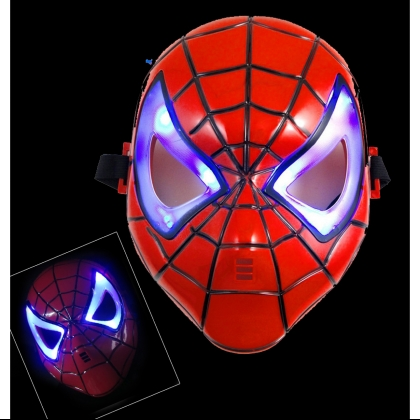 Masque avec LED - Spiderman