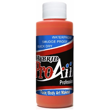 Fard fluide Waterproof pour aérographe ProAiir HYBRID 2oz (60 ml) - Orange