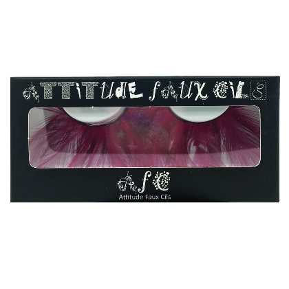 Faux Cils Plumes rose n°021