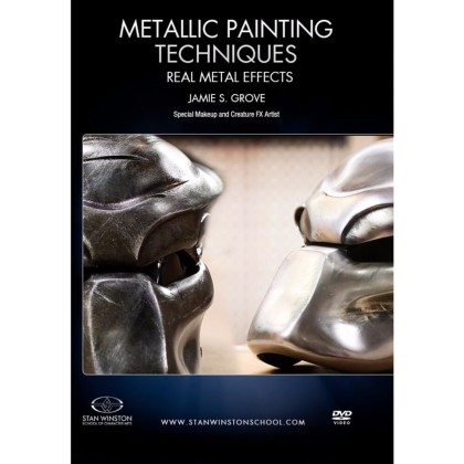 DVD Jamie Grove : Metallic Painting Techniques - Real Metal Effects (Predator)