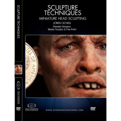 DVD Jordu Schell : Sculpture Techniques: Miniature Head Sculpting