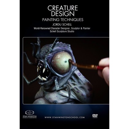 DVD Jordu Schell : Creature Design - Maquette Painting Techniques