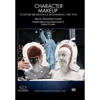 DVD Bruce Spaulding Fuller : Character Makeup - Sculpture Breakdown & Molding Part 2