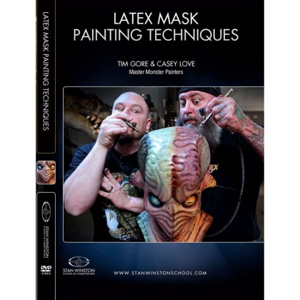 DVD Tim Gore & Casey Love : Latex Mask Painting Techniques