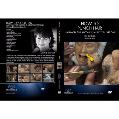 DVD Denise Baer : How To Punch Hair - Part 1