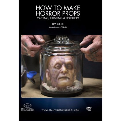 DVD Tim Gore : How to Make Horror Props: Casting, Painting, and Finishing