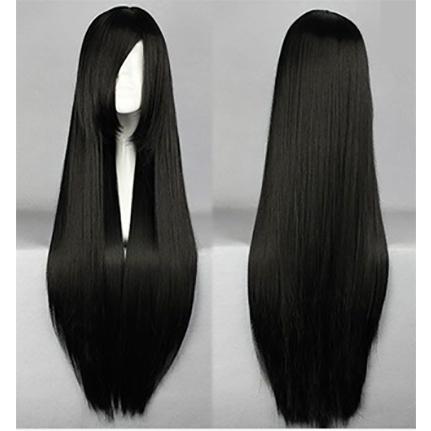 Photo cheveux long noir