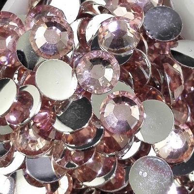 Strass 6mm - 1000 pièces - Multiple Facets Light Pink