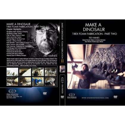 DVD Ted Haines : Make a Dinosaur - T-Rex Foam Fabrication Part 2
