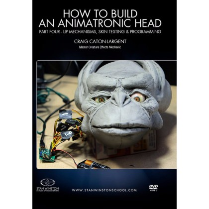 DVD Craig Caton-Largent : How to build an animatronic head. Pt. 4