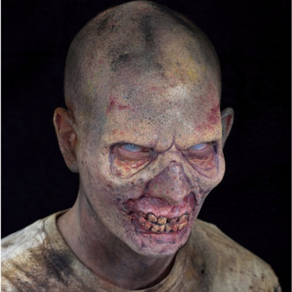 Masque en Mousse de Latex - Zombie Forehead 2