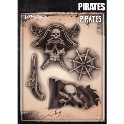 Pochoir Tattoo Pro - Stencils Pirates