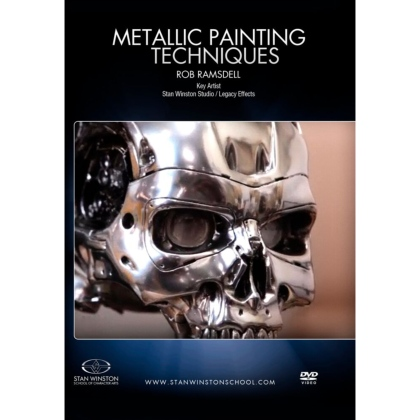DVD Rob Ramsdell : Metallic Painting Techniques - Robot Finishes : Terminator