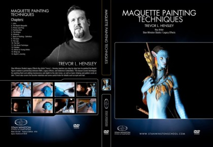DVD Trevor Hensley : Maquette Painting Techniques