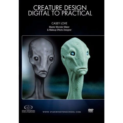 DVD Casey Love : Creature Design - Digital To Practical