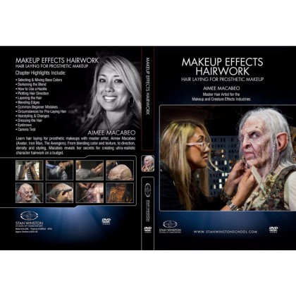 DVD Aimee Macabeo : Character Hairwork - Hair Laying for Prosthetic Makeup
