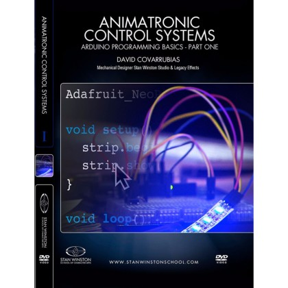 DVD David Covarrubias : Animatronic Control Systems - Arduino Programming Basics - Part 1