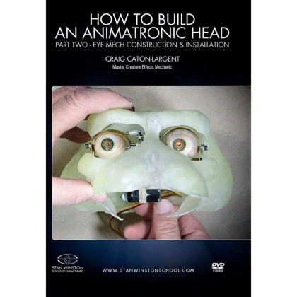 DVD Craig Caton-Largent : How to build an animatronic head. Pt. 2