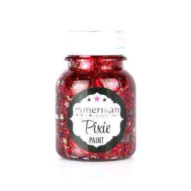 Paillettes Pixie Paint Rouge LITTLE RED CORVETTE 1oz (30ml)