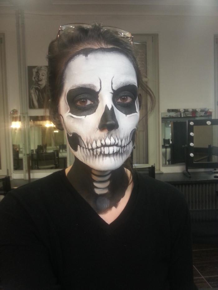 Maquillage Halloween Squelette Homme