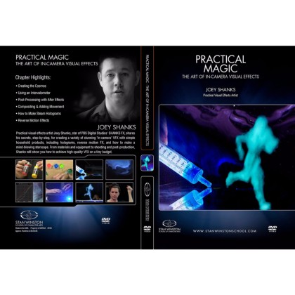 DVD Joey Shanks : The art of in-camera visual effects