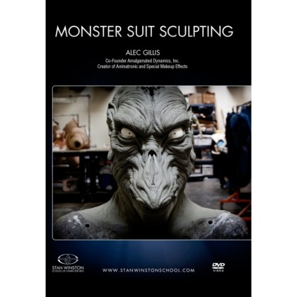 DVD Alec Gillis : Monster Suit Sculpting