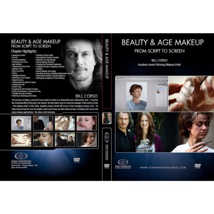 DVD Bill Corso : Beauty & Age Makeup - From Script to Screen