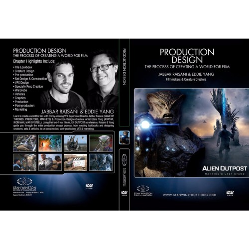 DVD Jabbar Raisani & Eddie Yang : Production Design: The Process of Creating a World for Film