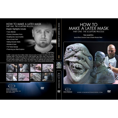 DVD Tim Martin : How to Make a Latex Rubber Mask - Part 1