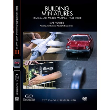 DVD Ian Hunter : Building Miniatures: Small-Scale Model Making - Part 3