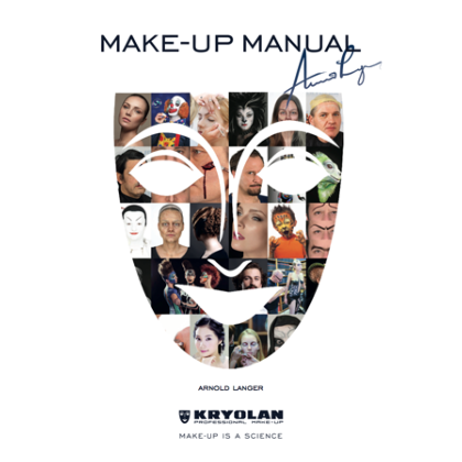 Livre Kryolan : Make-Up Manual