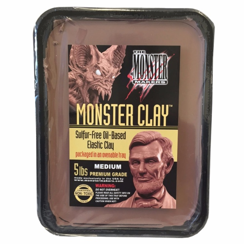 Monster Clay Medium 2.27 kg
