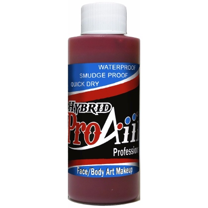 Fard fluide Waterproof pour aérographe ProAiir HYBRID 2oz (60 ml) - Blood Red