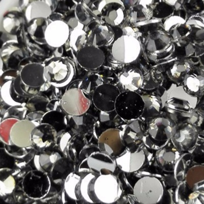Strass 3mm - 10 000 pièces - Multiple Facets Transparent Grey